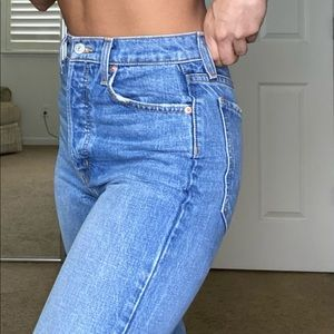 Commune high waisted jeans